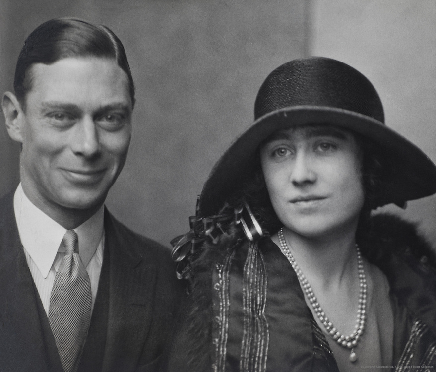 Royal Family: King George VI, H.R.H. Duke of York and Queen Elizabeth, England, UK, 1923