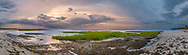 A serene sunset panorama at Mant's Landing on the Brewster bayside