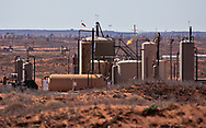 OIl and gas facilities in New Mexico's Permain Basin in Eddy County.