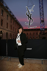 Jane Birkin attending at the Saint Laurent show as a part of Paris Fashion Week Ready to Wear Spring/Summer 2017 on September 27, 2016 in Paris, France. Photo by Jerome Domine /ABACAPRESS.COM