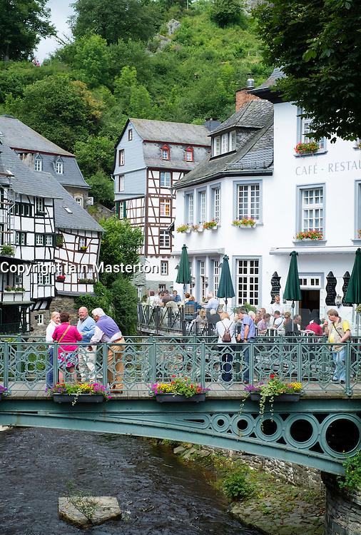 Historic village of Monschau in Eifel Region of Germany