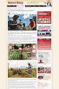 2013 06 20 Tearsheet Women's Weekly Australia Indonesia