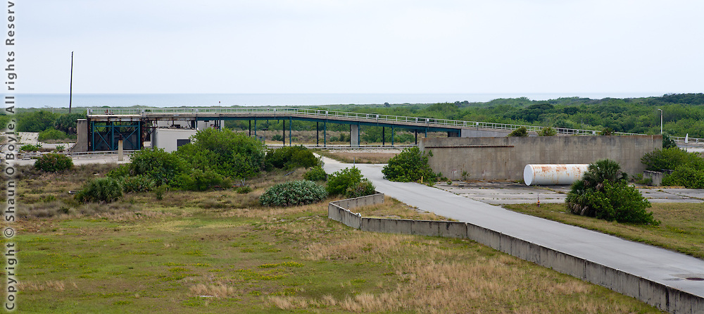 Launch Complex 14, site of the launch of John Glenn's orbital flight in 1962