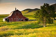 Barn near Lewistown Montana.