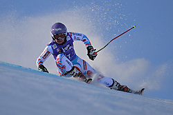 26.10.2013, Rettembach Ferner, Soelden, AUT, FIS Ski Alpin, FIS Weltcup, Ski Alpin, 1. Durchgang, im Bild Tessa Worley from France races down the course // Tessa Worley from France races down the course during 1st run of ladies Giant Slalom of the FIS Ski Alpine Worldcup opening at the Rettenbachferner in Soelden, Austria on 2012/10/26 Rettembach Ferner in Soelden, Austria on 2013/10/26. EXPA Pictures © 2013, PhotoCredit: EXPA/ Mitchell Gunn<br /> <br /> *****ATTENTION - OUT of GBR*****