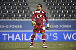 February 17, 2018 - Leuven, BELGIUM - OHL's Thai goalkeeper Kawin Thamsatchanan pictured during a soccer game between OH Leuven and KFCO Beerschot Wilrijk, in Heverlee, Leuven, Saturday 17 February 2018, on day 27 of the division 1B Proximus League competition of the Belgian soccer championship. BELGA PHOTO BRUNO FAHY (Credit Image: © Bruno Fahy/Belga via ZUMA Press)
