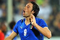 Fotball<br /> Italia<br /> Foto: Inside/Digitalsport<br /> NORWAY ONLY<br /> <br /> 30.05.2008<br /> <br /> Luca Toni (Italia)<br /> <br /> Italia v Belgia 3-1