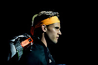 Tennis - 2019 Nitto ATP Finals at The O2 - Day One<br /> <br /> Singles Group Bjorn Borg: Roger Federer (Switzerland) vs. Dominic Thiem (Austria)<br /> <br /> Dominic Thiem (Austria) enters the court <br /> <br /> COLORSPORT/DANIEL BEARHAM