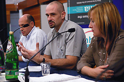 Discussions during Mental Health conference,