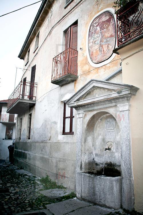 Arcumeggia il paese dipinto in provincia di Varese.