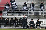 Fussball: 2. Bundesliga, FC St. Pauli - Holstein Kiel, Hamburg, 09.01.2021<br /> Trainer Timo Schultz (Pauli)<br /> © Torsten Helmke