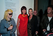 PAM HOGG; JANET STREET-PORTER; KATE MOSS, Art Plus Music Party 2010. Whitechapel art Gallery.  To raise money for the gallery';s education and community programme. 22 April 2010.