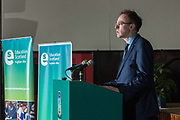Photographing SNP MSP Alasdair Allan at an Education Scotland event in West Lothian