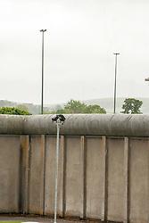 Perimeter wall, HMP Newport, Isle of Wight