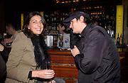 Gina Bellman, 'Live Forever' Britpop film party, Atlantic Bar and Grill, 3 March 2003. © Copyright Photograph by Dafydd Jones 66 Stockwell Park Rd. London SW9 0DA Tel 020 7733 0108 www.dafjones.com