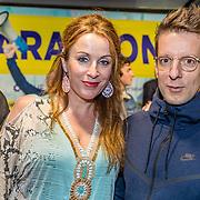 NLD/Rotterdam/20170319 - inloop De Marathon de Musical, Anniek Boer en Alex Klaasen