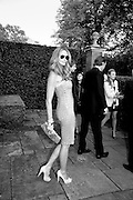 ELLE MACPHERSON, The Ormeley dinner in aid of the Ecology Trust and the Aspinall Foundation. Ormeley Lodge. Richmond. London. 29 April 2009