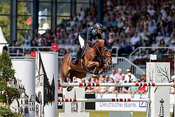 BLUM Simone (GER), DSP Alice<br /> Aachen - CHIO 2018<br /> Rolex Grand Prix 1. Umlauf<br /> Der Grosse Preis von Aachen<br /> 22. Juli 2018<br /> © www.sportfotos-lafrentz.de/Stefan Lafrentz