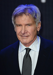 Harrison Ford arriving for the Star Wars: The Force Awakens European Premiere held in Leicester Square, London. Photo Credit should read Doug Peters/EMPICS Entertainment