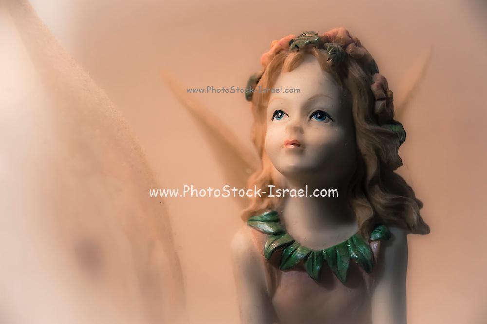 Female figurine Close up