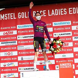 18-04-2021: Wielrennen: Amstel Gold Race women: Berg en Terblijt: Marianne Vos is de nieuwe leidster in de WorldTour