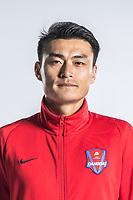 **EXCLUSIVE**Portrait of Chinese soccer player Zheng Tao of Chongqing Dangdai Lifan F.C. SWM Team for the 2018 Chinese Football Association Super League, in Chongqing, China, 27 February 2018.