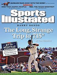 Barry Bonds, Sports Illustrated, 2006
