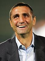 """L'allenatore del Messina Bruno Giordano<br /> Messina Trainer Bruno Giordano<br /> Italian """"Serie A"""" 2006-07<br /> 14 Oct 2006 (match day 6)<br /> Siena-Messina (3-1)<br /> """"A.Franchi"""" Stadium-Siena-Italy<br /> Photographer Luca Pagliaricci INSIDE"""