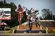 #593 (CAMPO Alfredo) ECU [Avian] at Round 7 of the 2019 UCI BMX Supercross World Cup in Rock Hill, USA