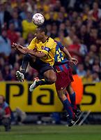 Photo: Richard Lane.<br />Arsenal v Barcelona. UEFA Champions League Final. 17/05/2006.<br />Arsenal's Thierry Henry.