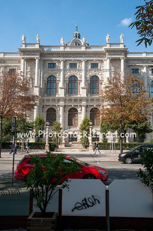 The Hofburg Palace and Burggarten park in Vienna, Austria