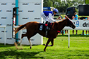 Miss Blondell ridden by Angus Villiers and trained by Marcus Tregoning in the Winning Post Bookmakers Bristol Handicap race.  - Ryan Hiscott/JMP - 15/09/2019 - PR - Bath Racecourse - Bath, England - Race Meeting at Bath Racecourse