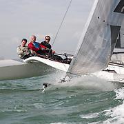 Essai de DIAM 24 à La Rochelle organisé par le Chantier et la SRR