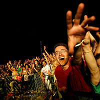 Audience at the concert of former Beatles singer, Sir Paul McCartney during in Tel Aviv on 25 September 2008. Photo by Michal Fattal/FLASH90 *** Local Caption *** ??? ??????..??? ??????..?????..?????..???? ??????..?????..???..?????