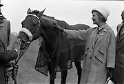 """29/06/1963<br /> 06/29/1963<br /> 29 June 1963<br /> Irish Sweeps Derby at the Curragh Racecourse, Co. Kildare. Pictured is """"Ragusa"""" the winning entry in the 1963 Irish sweeps Derby."""