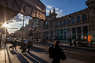 Gare du nord is a focal point for those workers coming from the northern suburbs and not only.