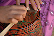 Pagan Mandalay handcraft workshop pottery design work