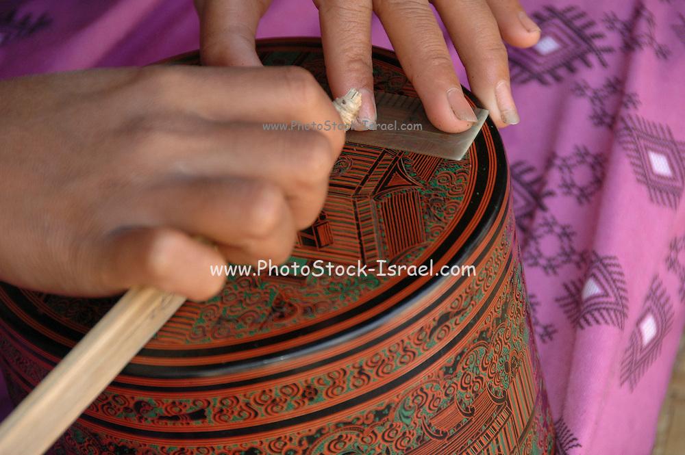 Pagan Mandalay handcraft workshop pottery design work