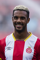 August 15, 2017 - Girona, Spain - Portrait of Jonas Ramalho from Spain of Girona FC during the Costa Brava Trophy match between Girona FC and Manchester City at Estadi de Montilivi on August 15, 2017 in Girona, Spain. (Credit Image: © Xavier Bonilla/NurPhoto via ZUMA Press)
