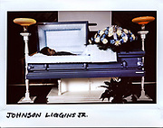 """Johnson """"John John"""" Liggins Jr.,17-year-old, at the Gatlings Funeral Home in Chicago, in this photo taken November 3, 2017. Higgins died from gunshots to his head and chest in the 8000 block of South Coles Avenue on October 23, 2017."""