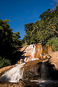 Domingos Martins_ES, Brasil...Cachoeira ao lado de um trecho da Rota Imperial, antiga Estrada Dom Pedro de Alcantra...A waterfall next to the ancient Rota Imperial, know as Dom Pedro de Alcantara road...Foto: LEO DRUMOND / NITRO