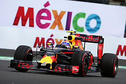 Max Verstappen (NLD) Red Bull Racing RB12.<br /> 28.10.2016. Formula 1 World Championship, Rd 19, Mexican Grand Prix, Mexico City, Mexico, Practice Day.<br /> Copyright: Batchelor / XPB Images / action press