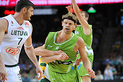 Miha Zupan of Slovenia during friendly match between National Teams of Slovenia and Lithuania before World Championship Spain 2014 on August 18, 2014 in Kaunas, Lithuania. Photo by Robertas Dackus / Sportida.com
