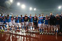 Esultanza Napoli, celebration  <br /> Napoli 14-05-2016 Stadio San Paolo<br /> Football Calcio Serie A 2015/2016 Napoli - Frosinone<br /> Foto Cesare Purini / Insidefoto