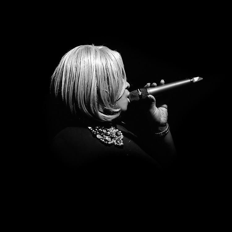 Nekita Waller performs at the Cloud night club in Hartford
