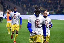 January 30, 2019 - Nantes, France - Abdoulaye Toure ( Nantes ) - Hommage a EMilaino Sala  (Credit Image: © Panoramic via ZUMA Press)