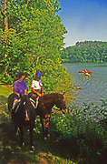 Horseback riding, York County Park, PA