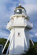 The Katiki Point Lighthouse, Katiki Point, Otago, New Zealand, June 2013