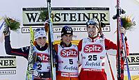 GEPA-2001076334 - <br /> Nordisk Kombinert Verdenscup <br /> Seefeld Østerrike<br /> 20.01.07<br /> Jason Lamy Chappuis (FRA), Felix Gottwald (AUT) und Magnus Hovdal Moan (NOR)<br /> DIGITALSPORT / NORWAY ONLY