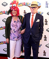 """Hilary Whitehall and Michael Whitehall at the """"Moley"""" premiere, Leicester Square, London, Location, London, UK - 25 Sep 2021 photo by Roger Alacron"""